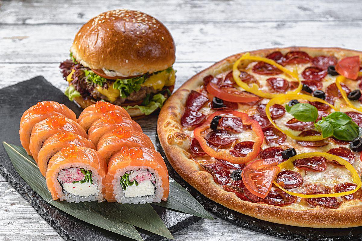 Маман / Oliva Pizza