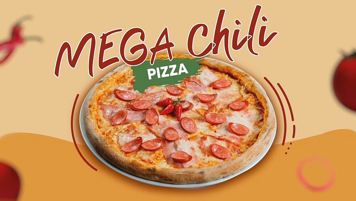 Mega Chili Pizza