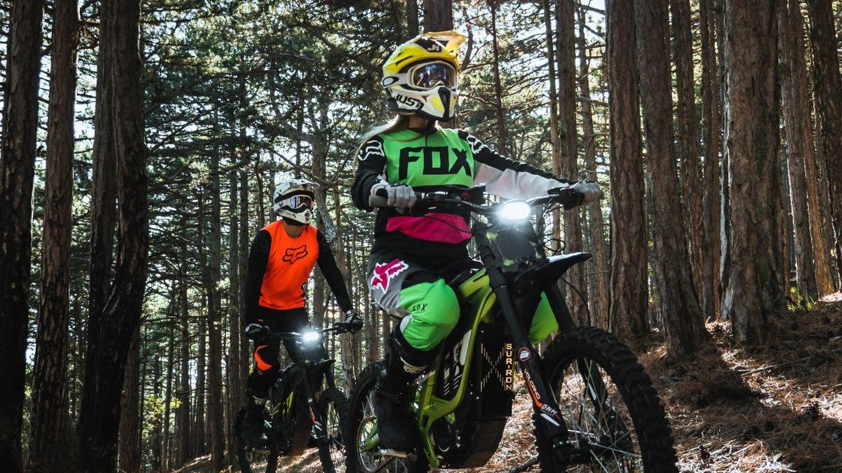 Тур на Электромотоцикле от Sur-Ron Crimea