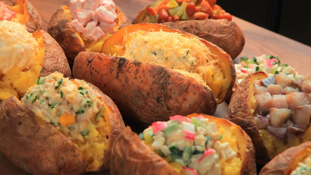 Курортная картошка