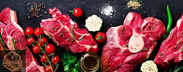 Антрекот - Мясо и маринад